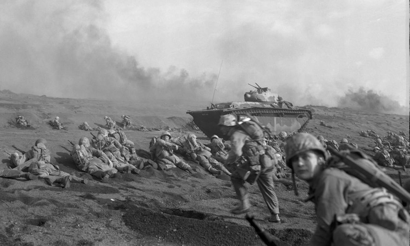 Tiet lo bat ngo chien thang cua My truoc Nhat Ban trong tran Iwo Jima