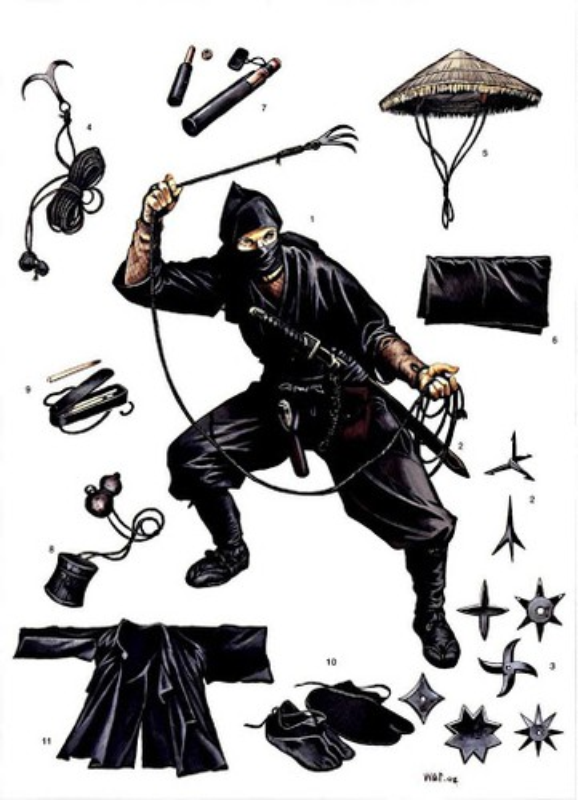 """Nhung luat le """"sat"""" danh cho ninja Nhat Ban-Hinh-2"""