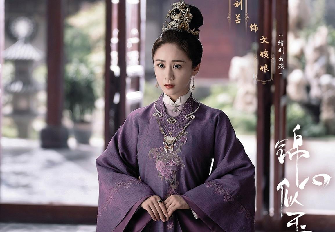Dan my nhan dong vai vo Chung Han Luong trong