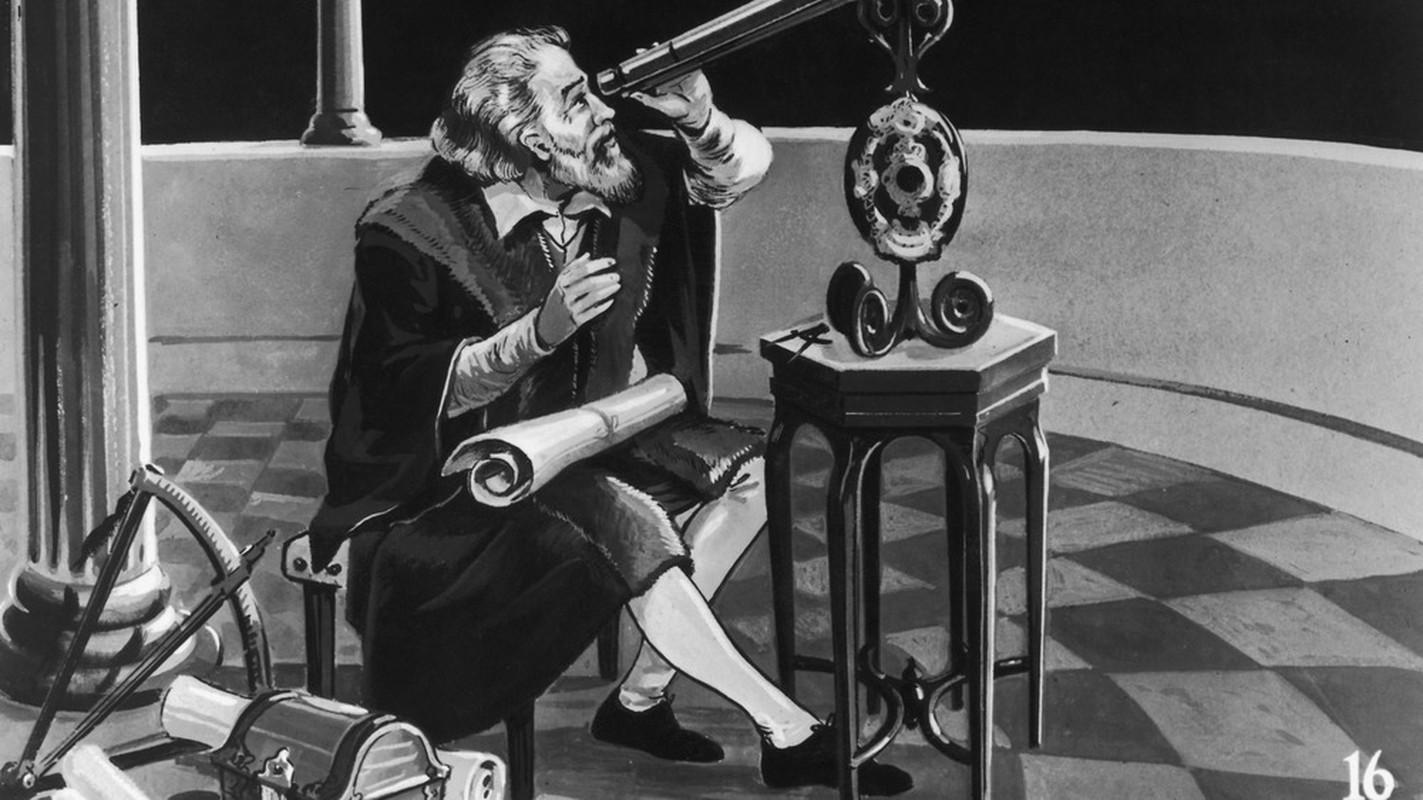 Cuoc doi it biet ve nha thien van hoc Galileo Galilei