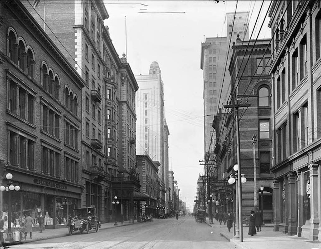 Bo anh thanh pho Toronto rat doi binh yen nhung nam 1900