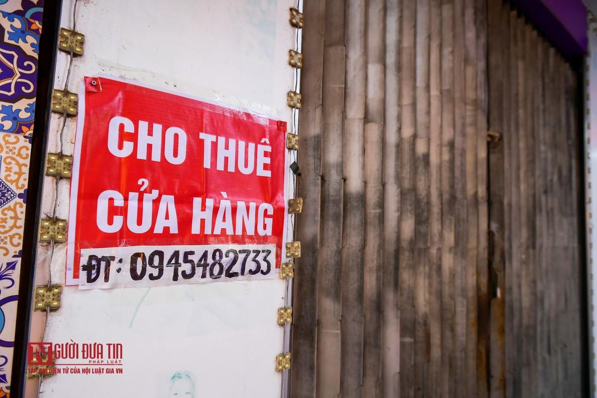 Hai Duong: Hang loat cua hang treo bien sang nhuong do COVID-19-Hinh-6