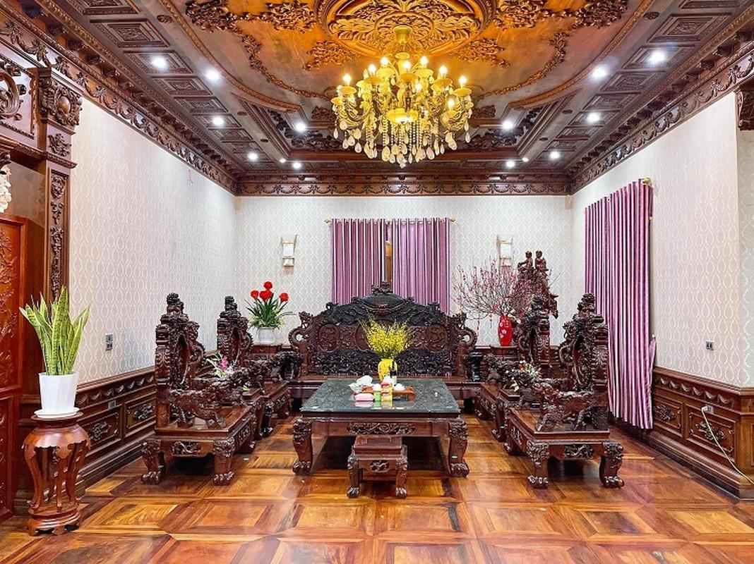Biet thu cua dai gia Bac Ninh voi noi that toan go nguyen khoi-Hinh-5