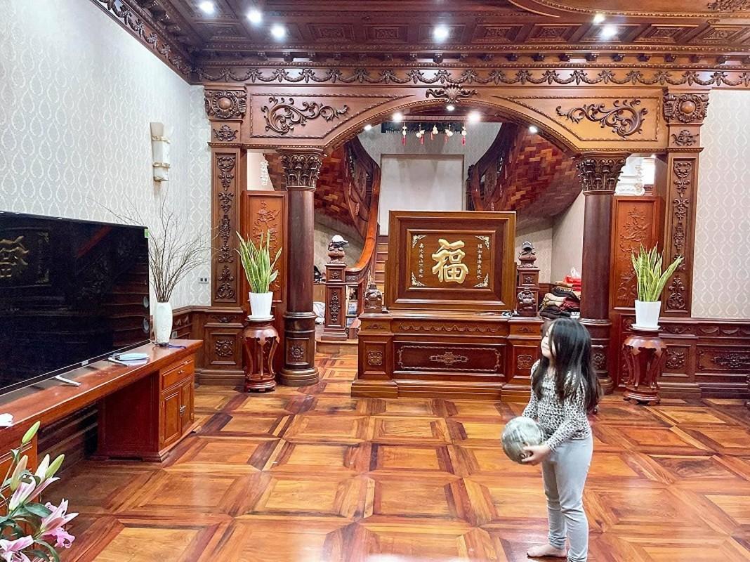 Biet thu cua dai gia Bac Ninh voi noi that toan go nguyen khoi-Hinh-7