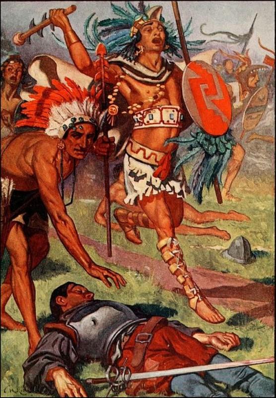 """Chien binh Aztec thien chien trai qua huan luyen """"dia nguc"""" nao?-Hinh-4"""