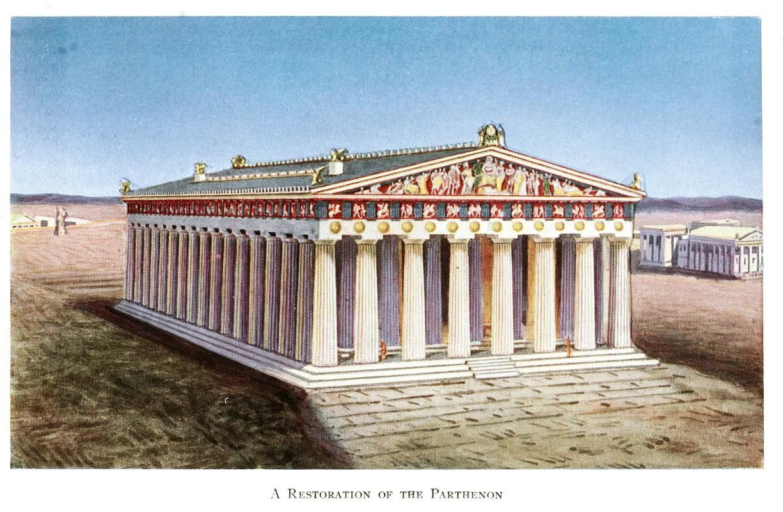 Su kien khien den Parthenon noi tieng Hy Lap bi hu hai nang-Hinh-3