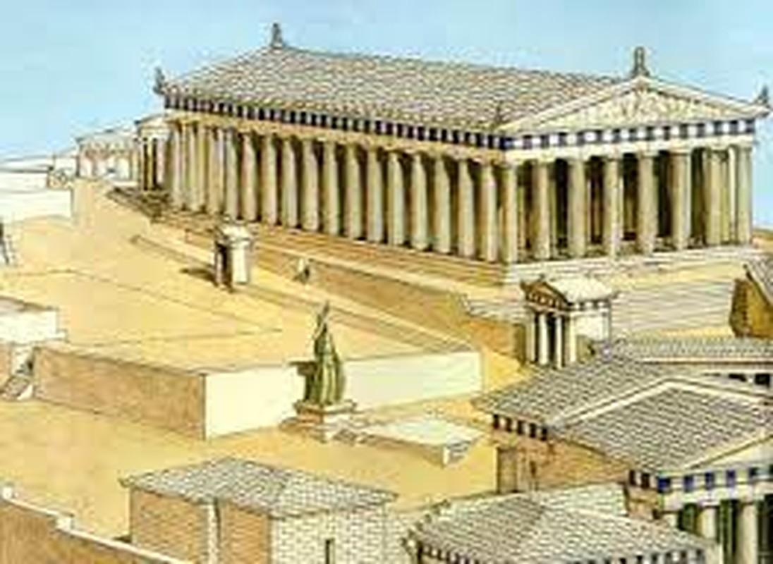 Su kien khien den Parthenon noi tieng Hy Lap bi hu hai nang-Hinh-4