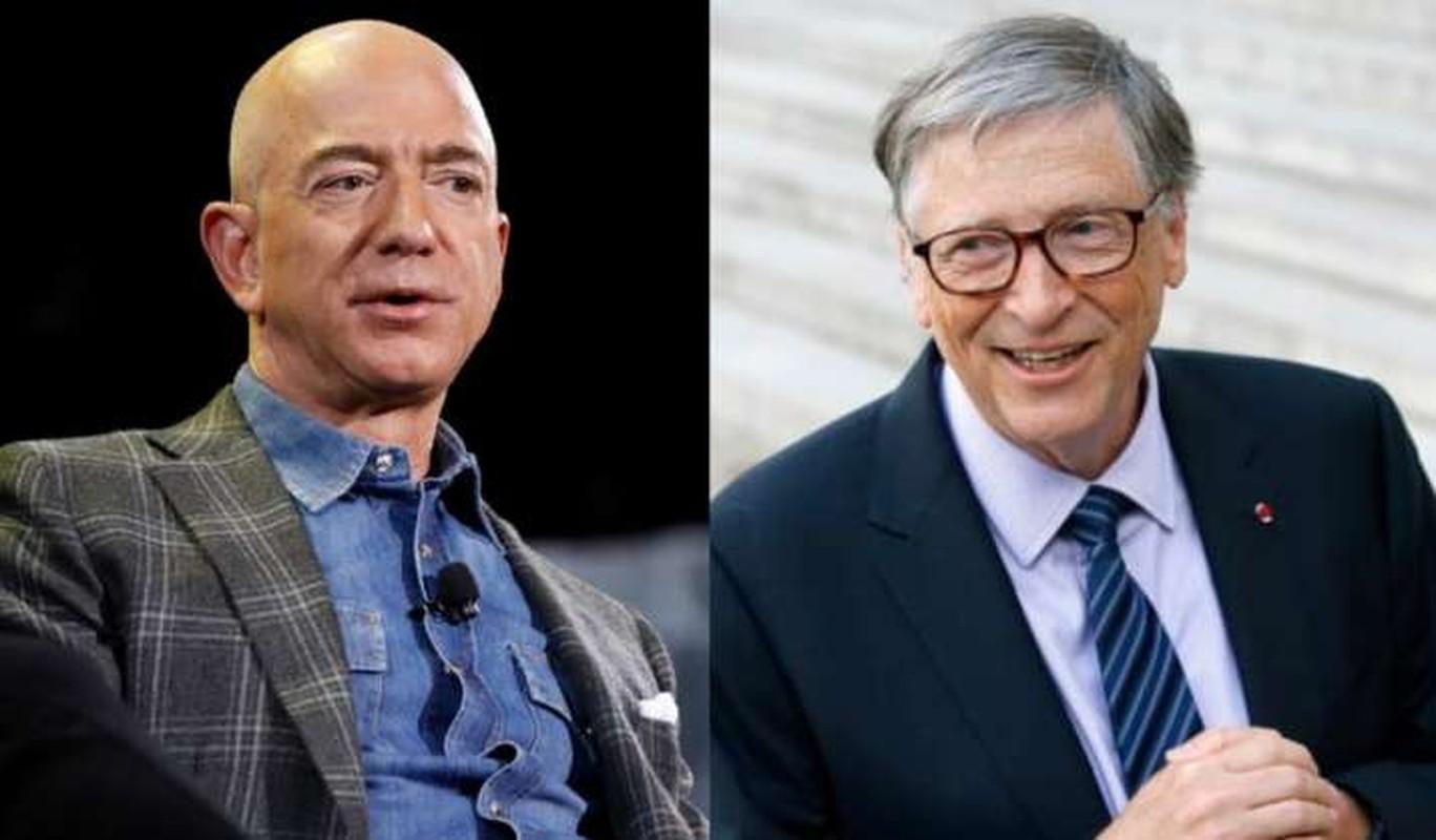 """Loat diem chung """"dang ne"""" cua ty phu Bill Gates va Jeff Bezos"""