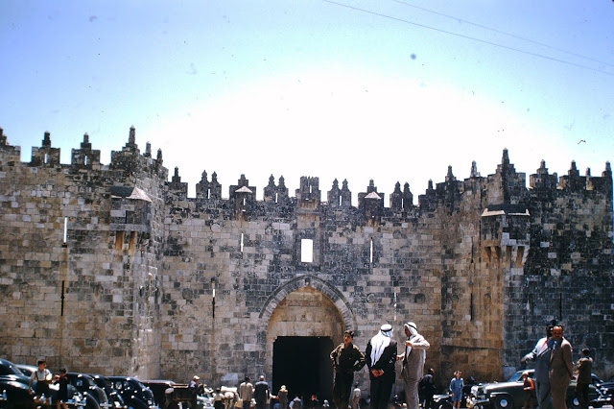 Anh hiem vung dat thanh Jerusalem o Israel thoi xua-Hinh-10