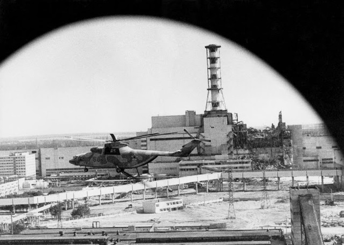 Nha may hat nhan Chernobyl co the phat no: Am anh tham hoa xua