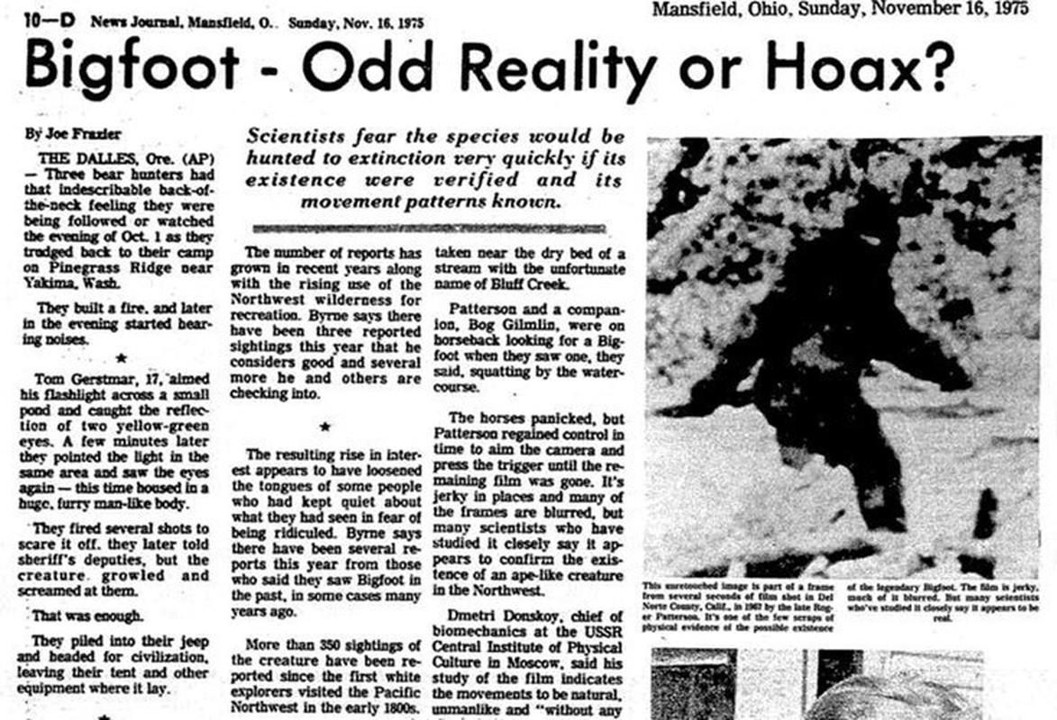 """Bi an quai thu Bigfoot xuat hien """"dinh dam"""" o Pennsylvania nam 1980-Hinh-2"""
