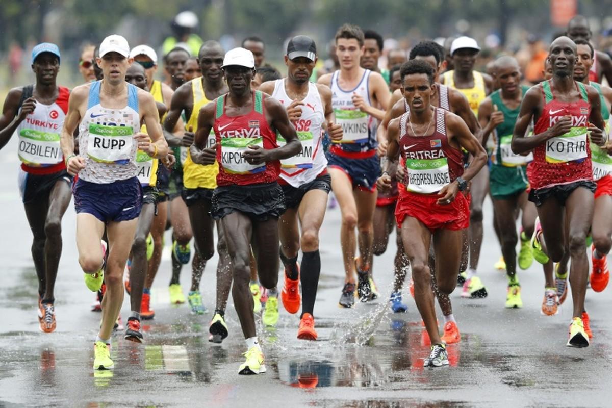 Mon chay marathon Olympic bat nguon tu tran chien kinh dien nao?