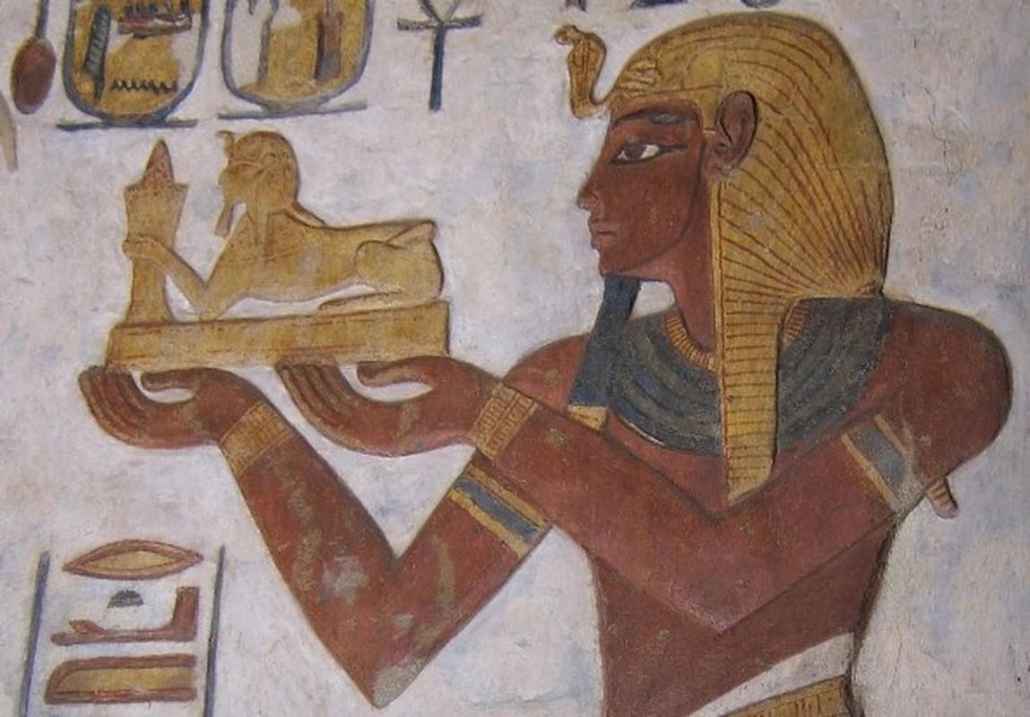 Chup cat lop, lo bi mat cuc choang ve xac uop pharaoh Ai Cap