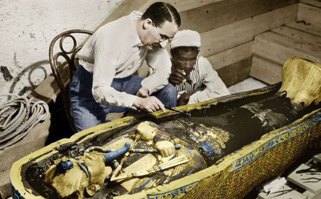 Mo mo Pharaoh Tutankhamun, chuyen gia sung nguoi thay thu cuc soc