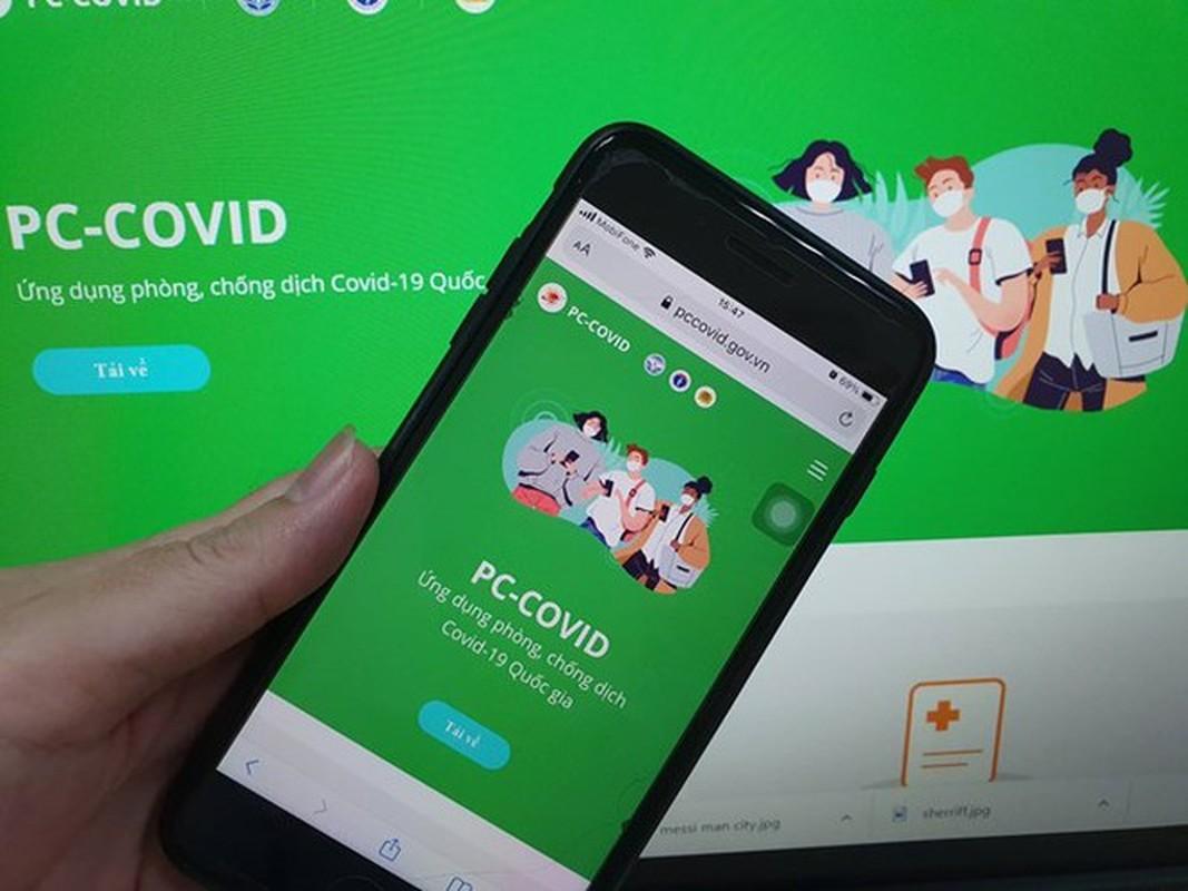 Thong tin bi sai tren app PC-Covid: Chinh sua the nao?