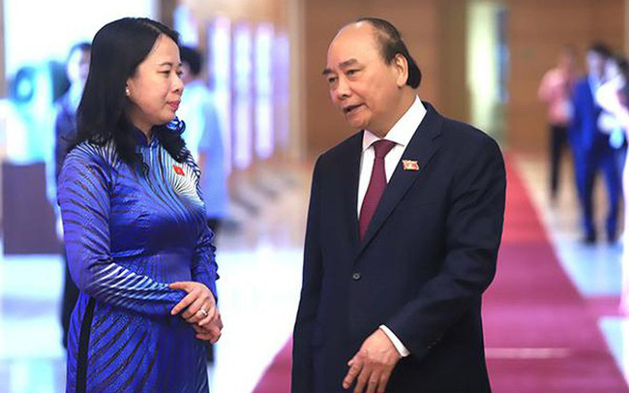 Ba Vo Thi Anh Xuan tai dac cu Pho chu tich nuoc-Hinh-7