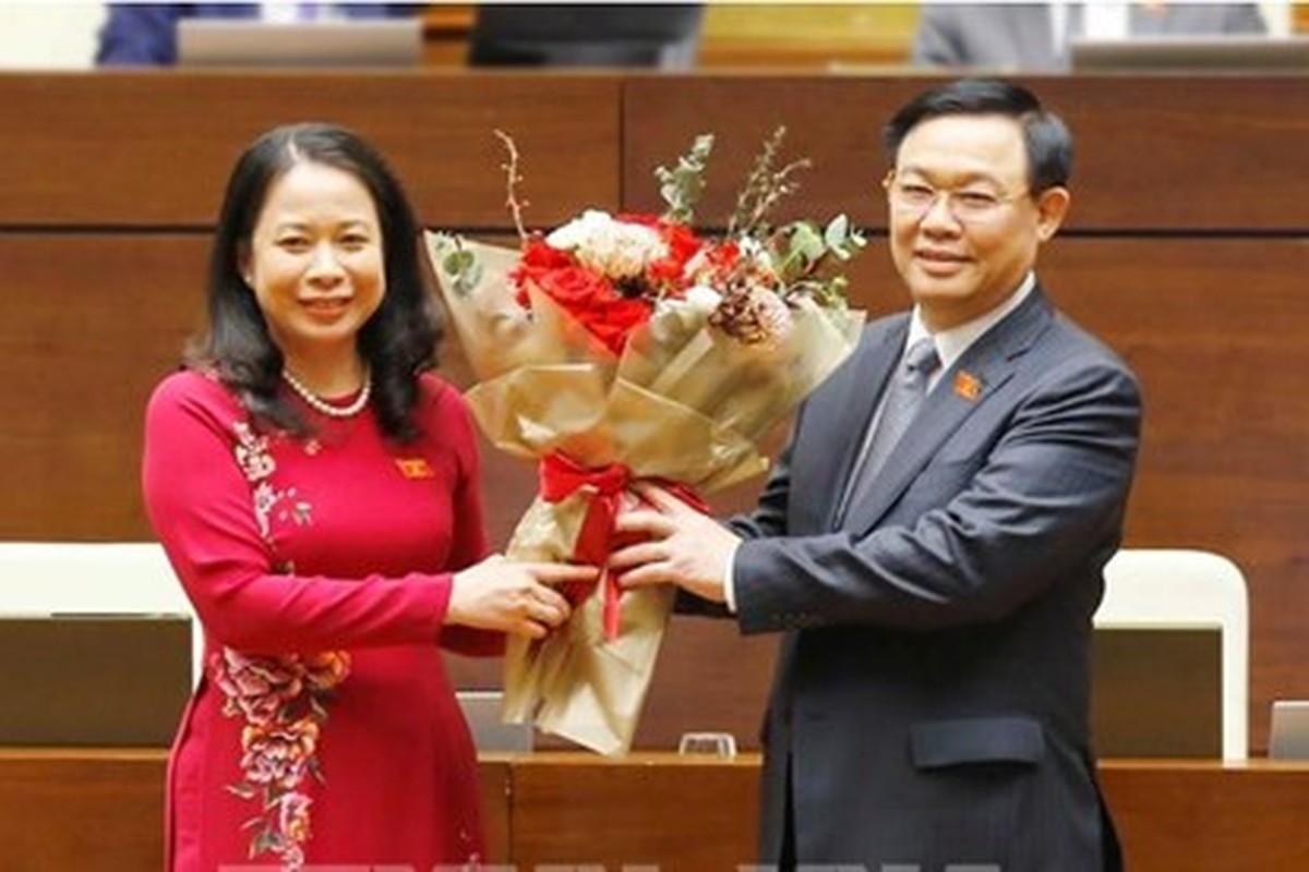Ba Vo Thi Anh Xuan tai dac cu Pho chu tich nuoc