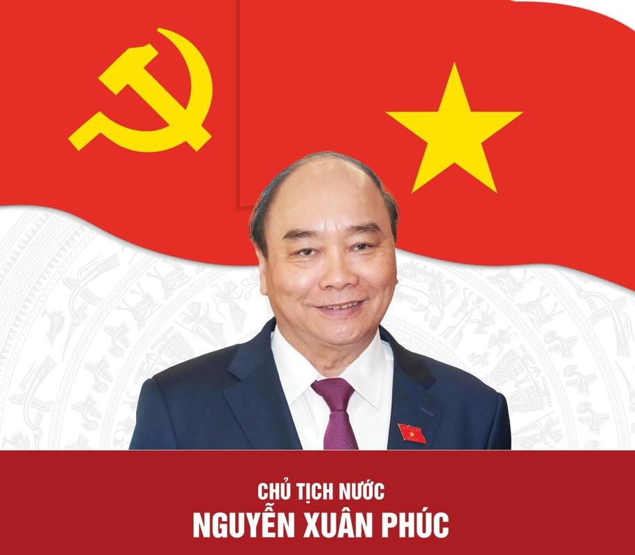Chan dung Chu tich nuoc Nguyen Xuan Phuc