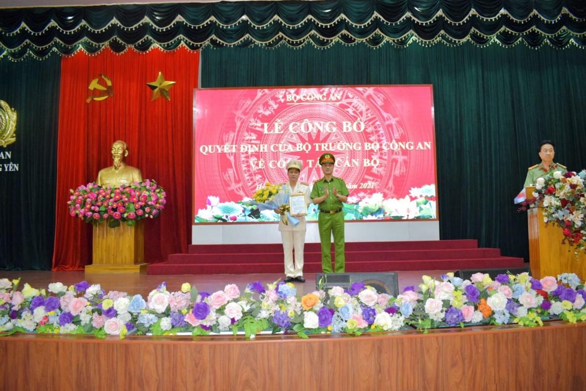 Chan dung tan Giam doc Cong an tinh Hung Yen