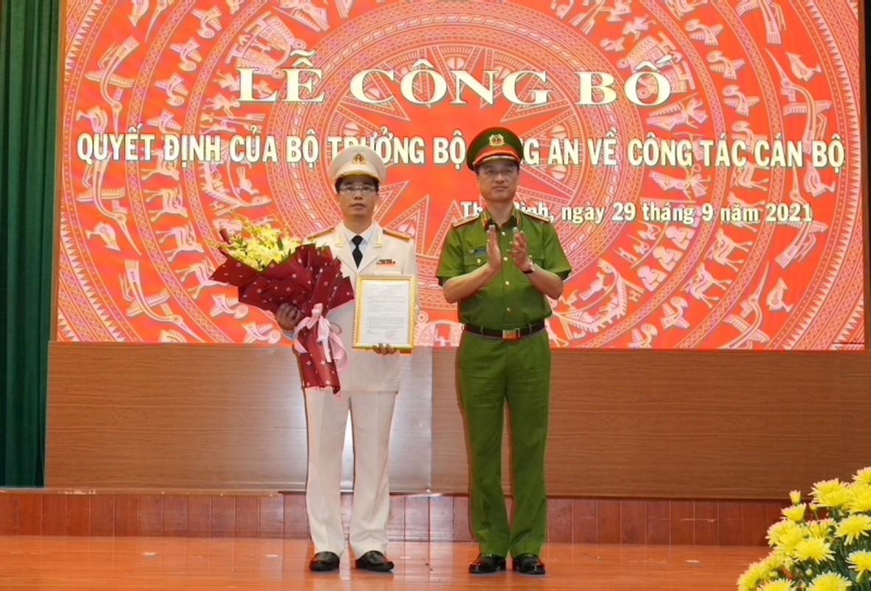Chan dung tan Giam doc Cong an tinh Thai Binh