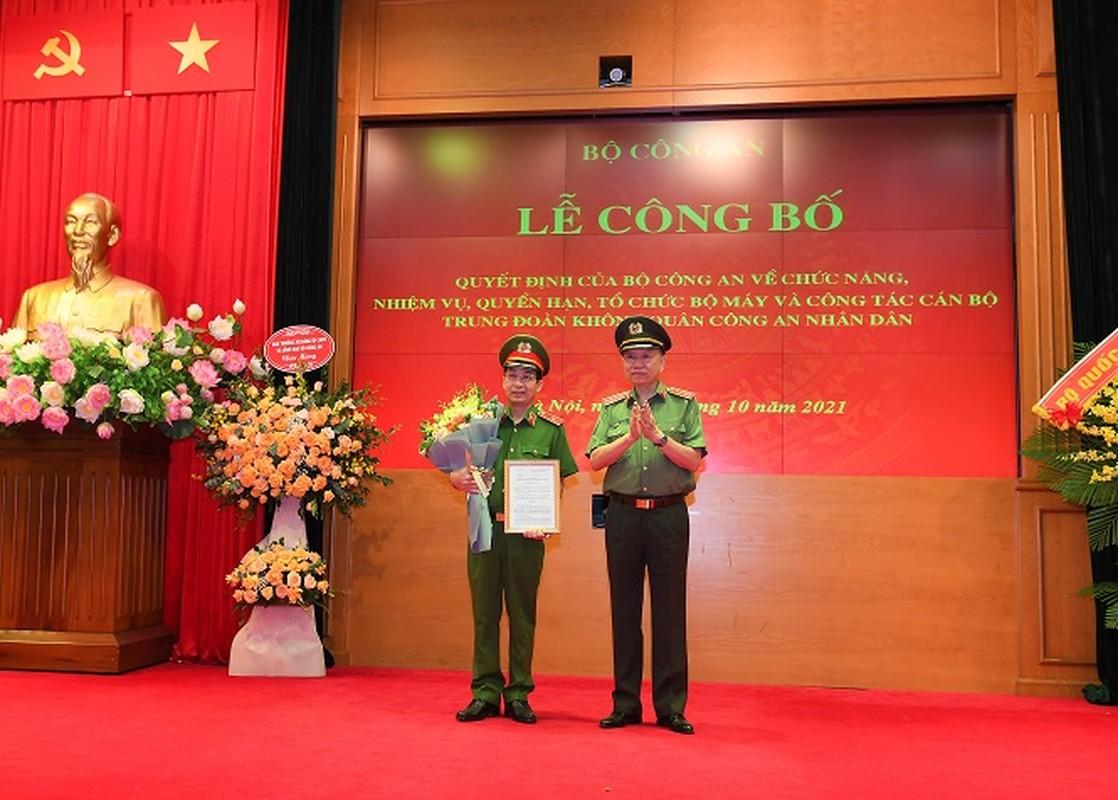 Bo Cong an co them mot Trung doan Khong quan
