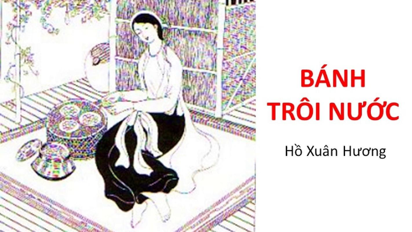 Cuoc doi ngang trai cua Ho Xuan Huong an sau bai tho Banh troi nuoc?