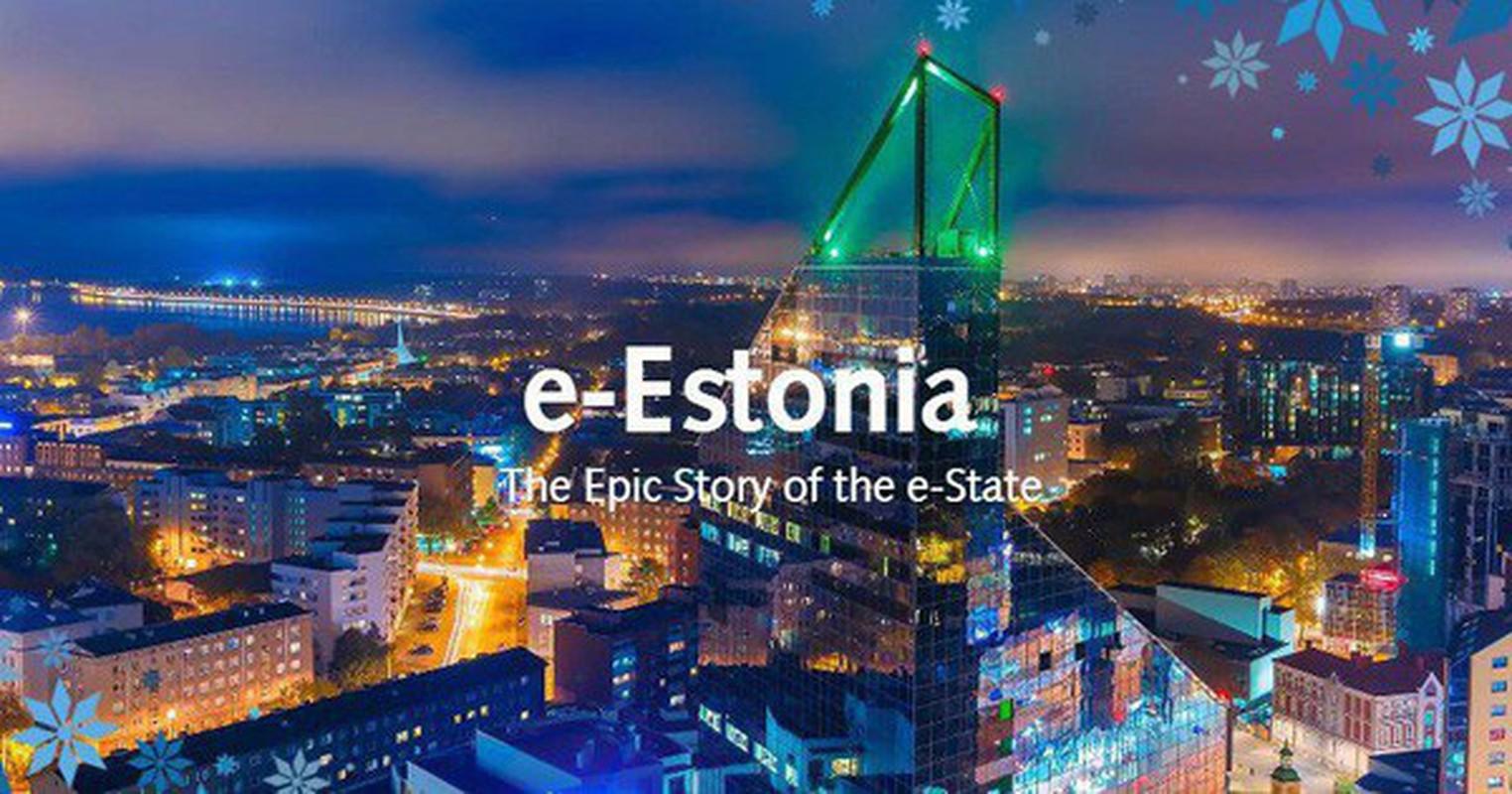 Tu lac hau den dinh cong nghe cao, Estonia khien the gioi