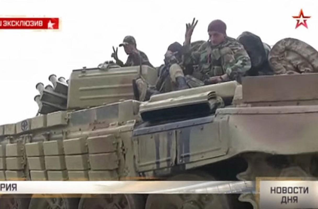Nga chuyen giao xe tang T-72B cho Quan doi Syria?