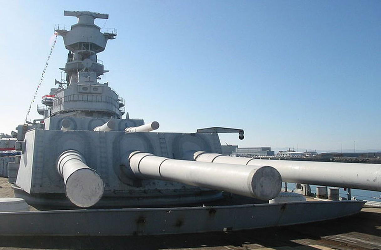 Hỏa lực mạnh nhất của USS New Jersey và cũng là