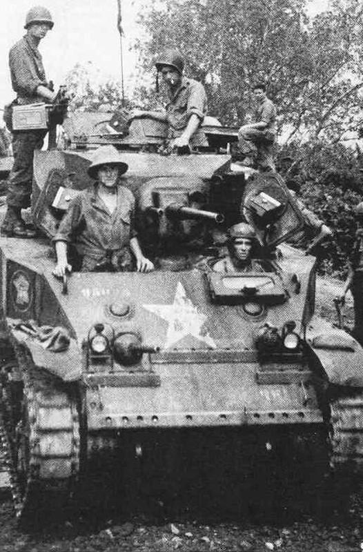 Quan doi Phap tung dung xe tang gi trong Chien tranh Viet Nam?