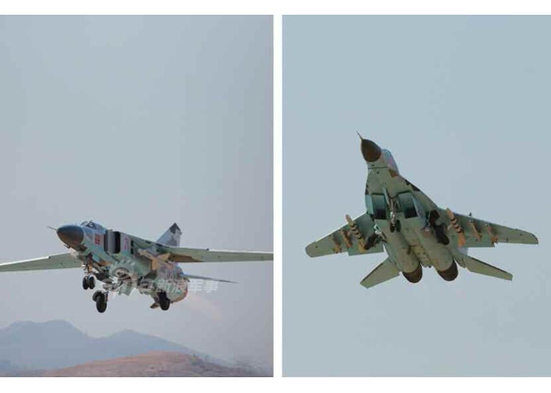 Man nhan chien dau co MiG-29, Su-25 Trieu Tien tap tran-Hinh-6