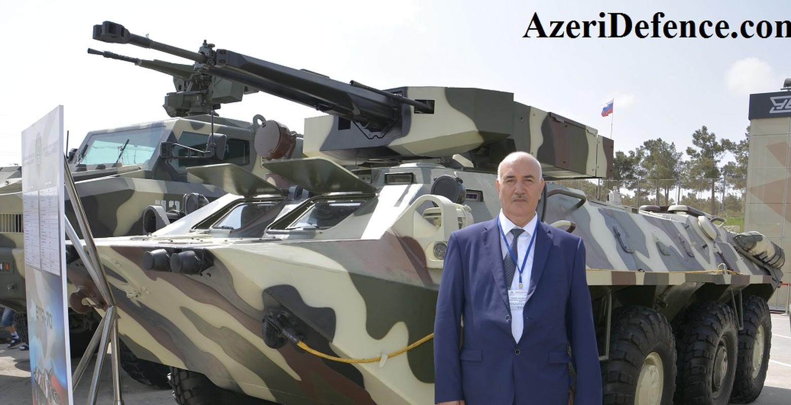 Quan doi Azerbaijan so huu nhieu vu khi hang dau cua Nga/Xo... Armenia lep ve?-Hinh-7