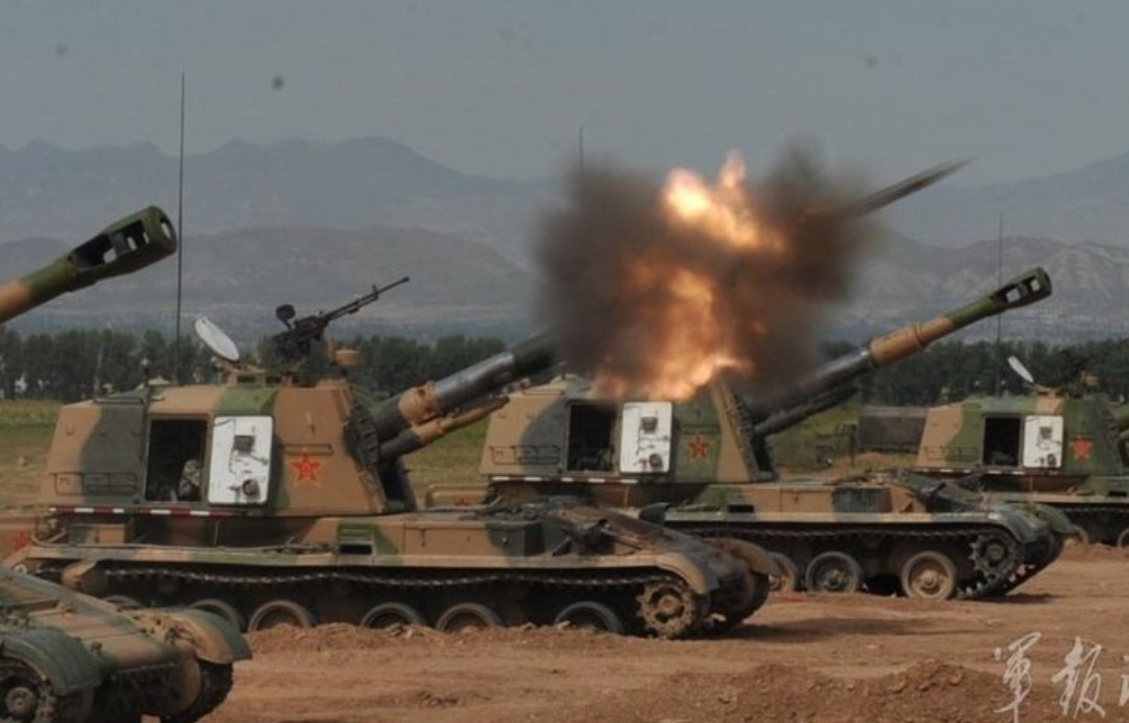 Soi phao tu hanh TQ sao chep loai SU-152 cua Viet Nam