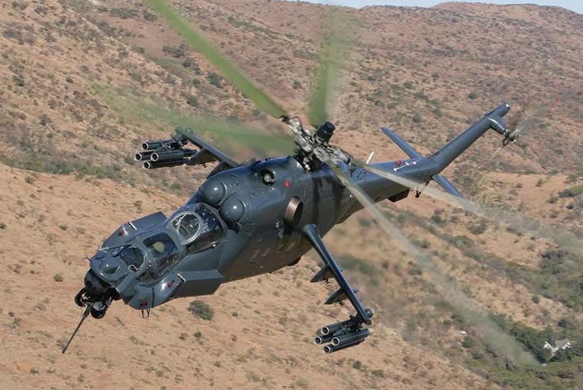 "Khiep dam hinh dang ""xe tang bay"" Mi-24 cua…Nam Phi-Hinh-8"