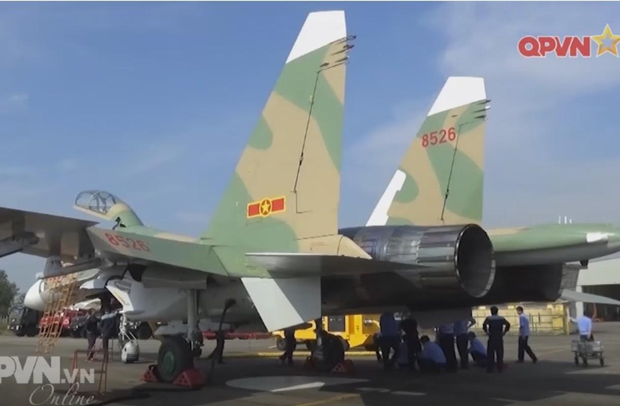 Tuyet voi: Viet Nam tu tang han su dung tiem kich Su-27-Hinh-10
