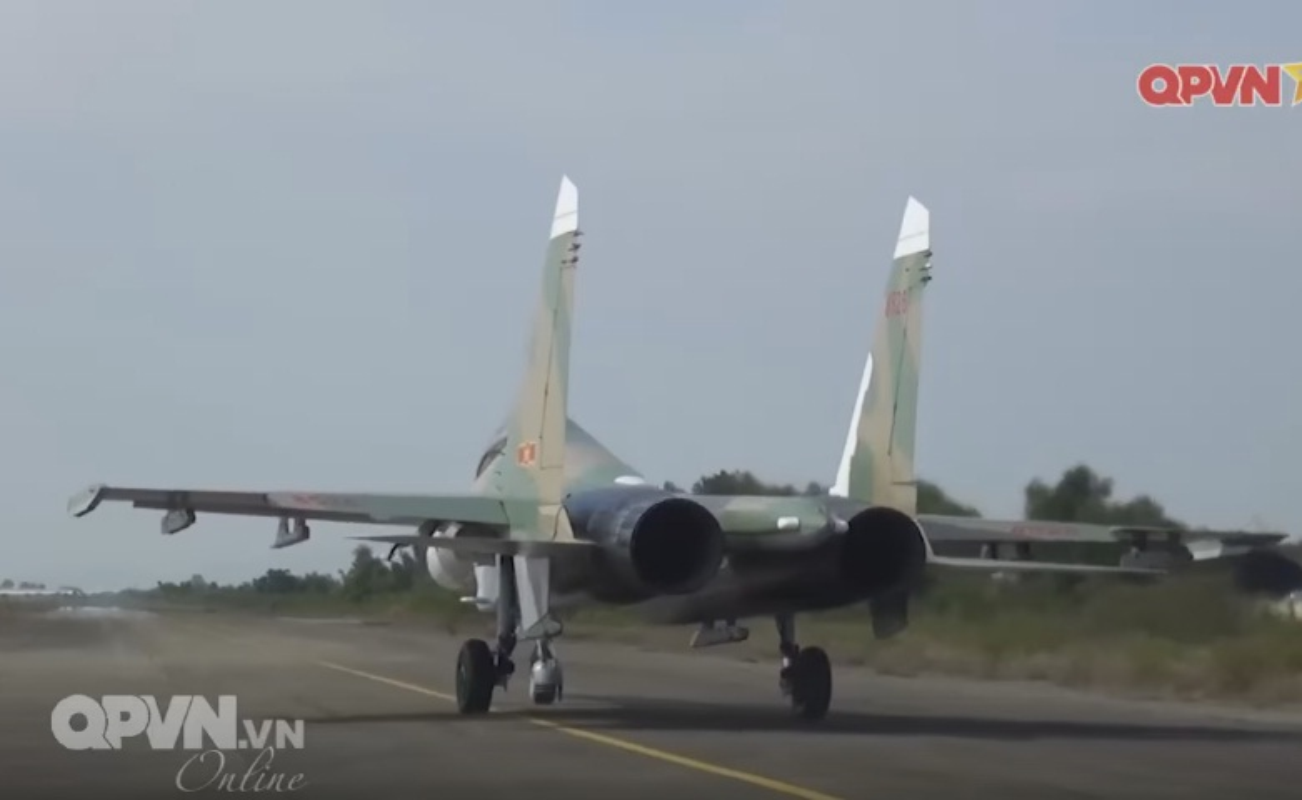 Tuyet voi: Viet Nam tu tang han su dung tiem kich Su-27-Hinh-12