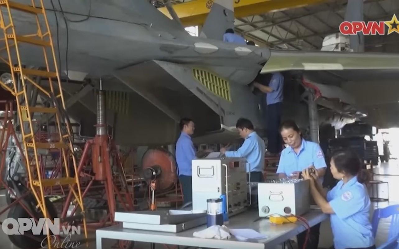 Tuyet voi: Viet Nam tu tang han su dung tiem kich Su-27-Hinh-4