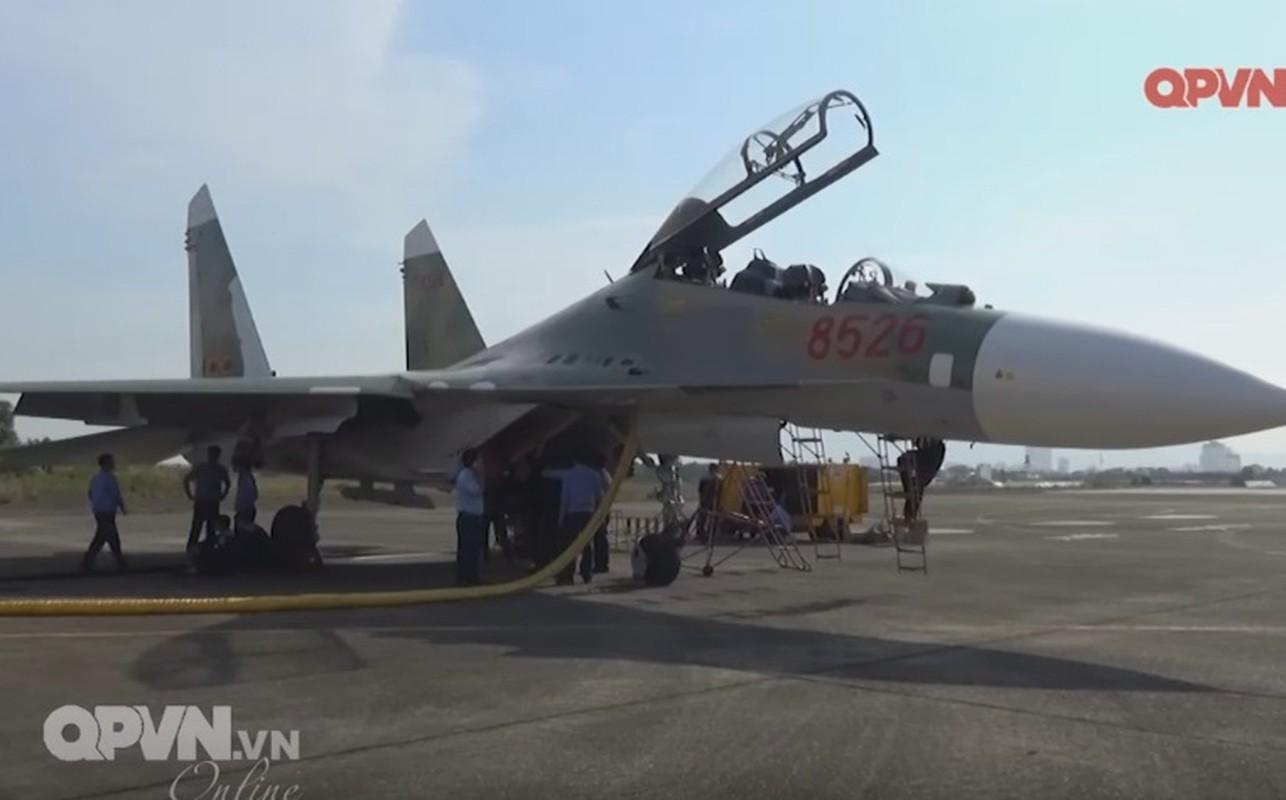 Tuyet voi: Viet Nam tu tang han su dung tiem kich Su-27-Hinh-8