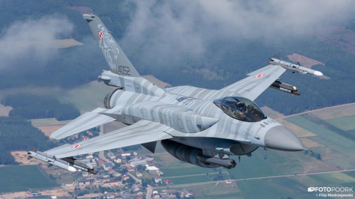 An tuong manh may bay chien dau Su-22 sat canh cung F-16-Hinh-4