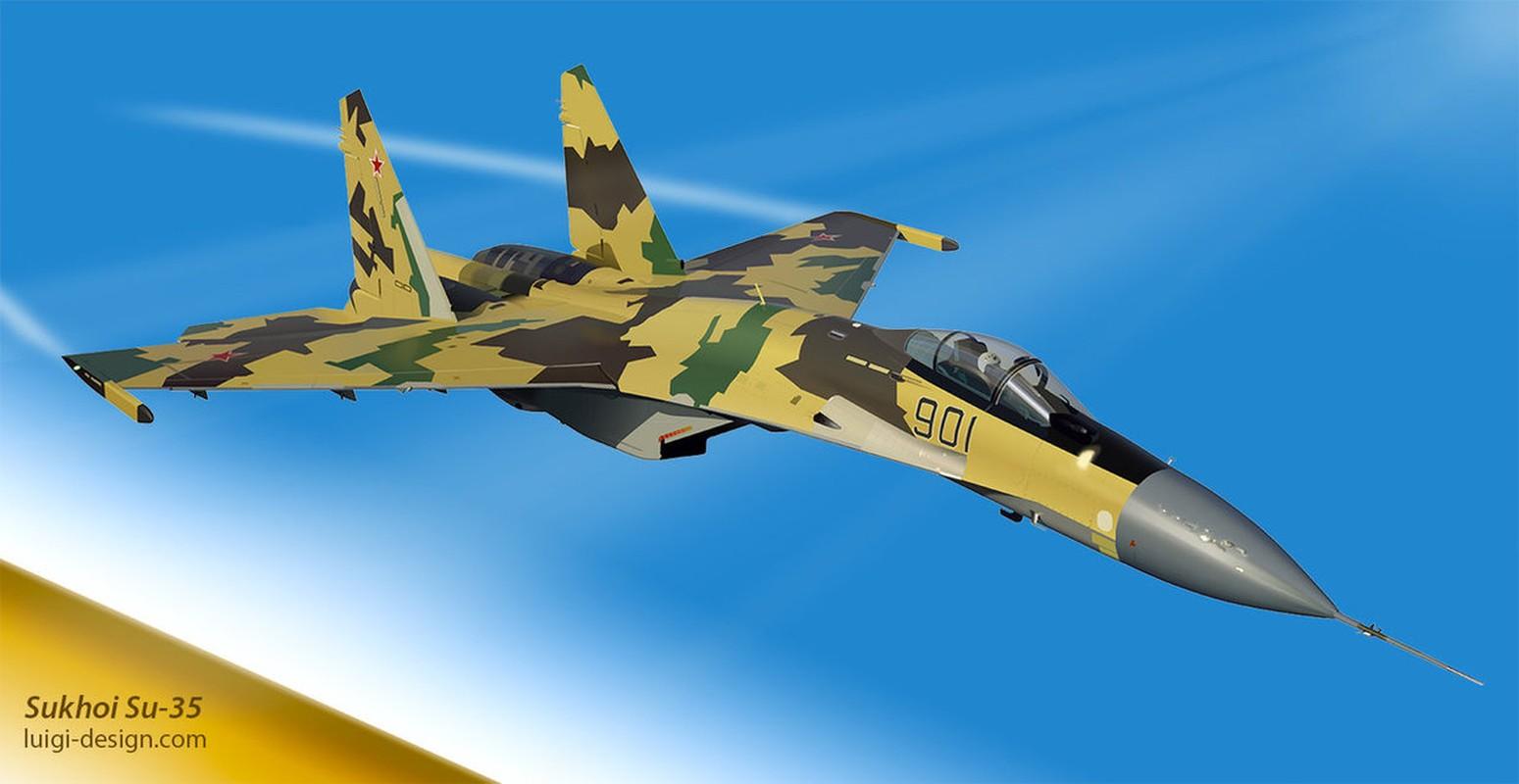 "Bao My ""cay dang"" thua nhan ""Su-35 la vua cua bau troi"""