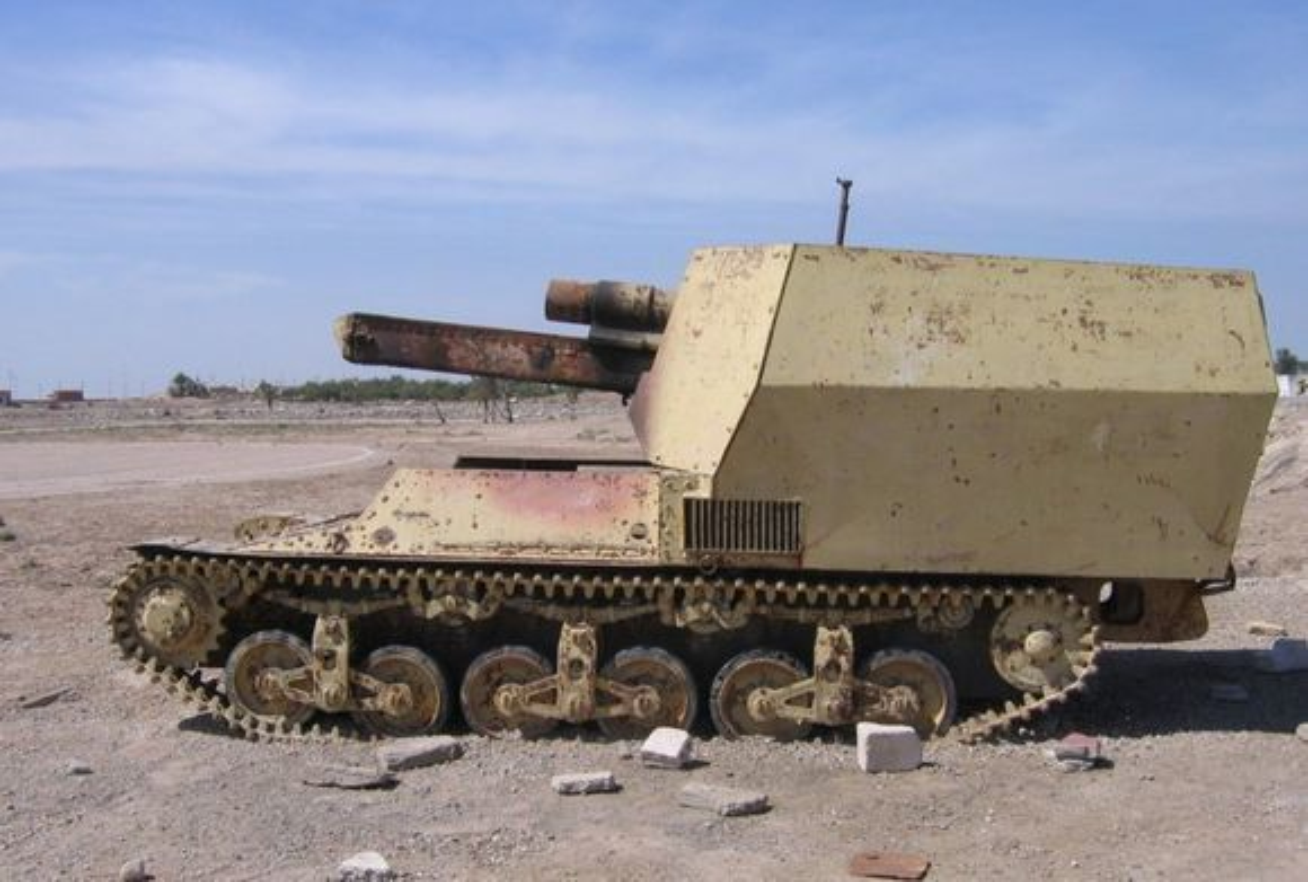 Ngac nhien tot do kho tang, phao thoi CTTG 2 o Iraq-Hinh-10