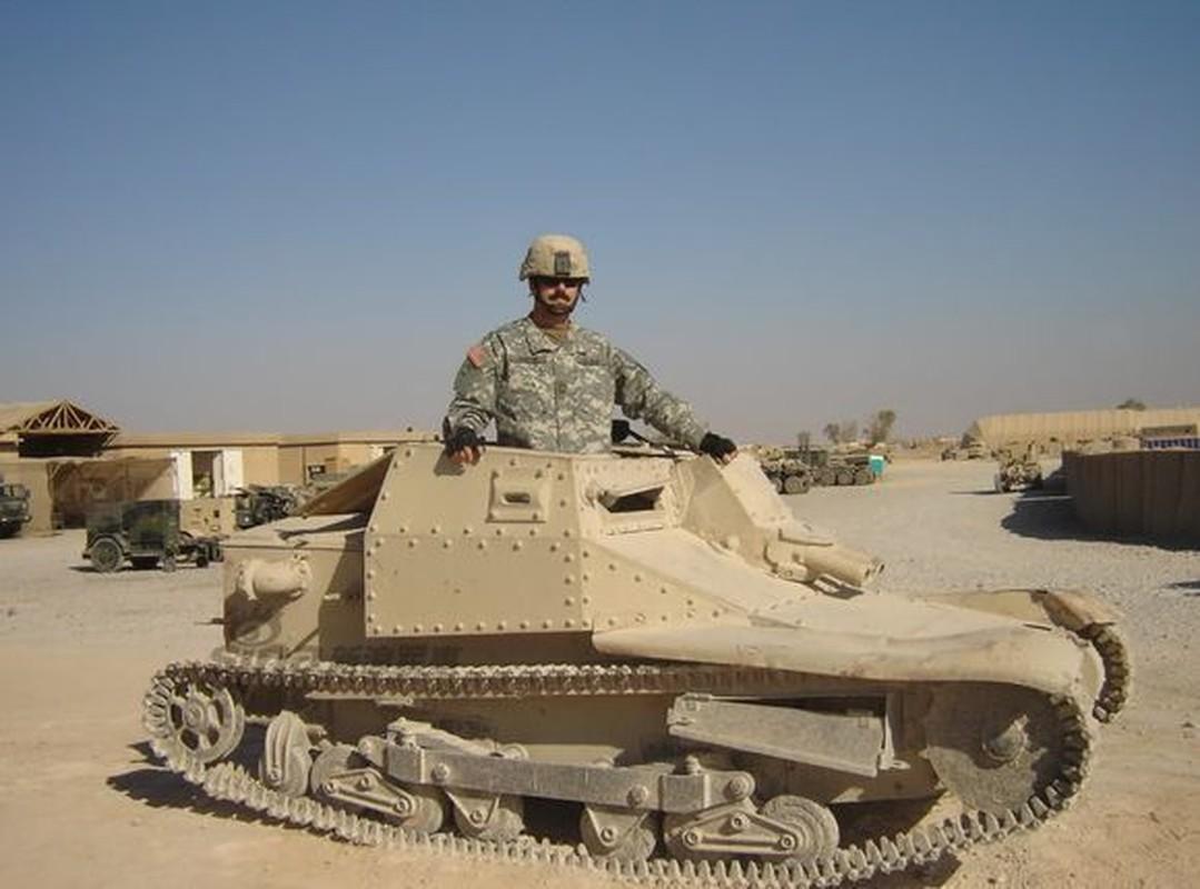 Ngac nhien tot do kho tang, phao thoi CTTG 2 o Iraq