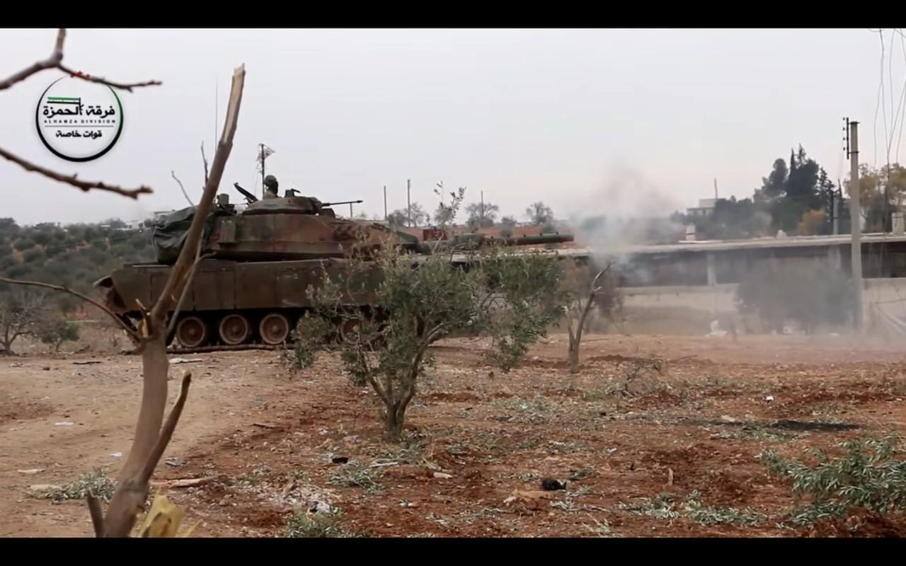 The tham quan doi TNK vut xe tang thao chay o Syria-Hinh-10