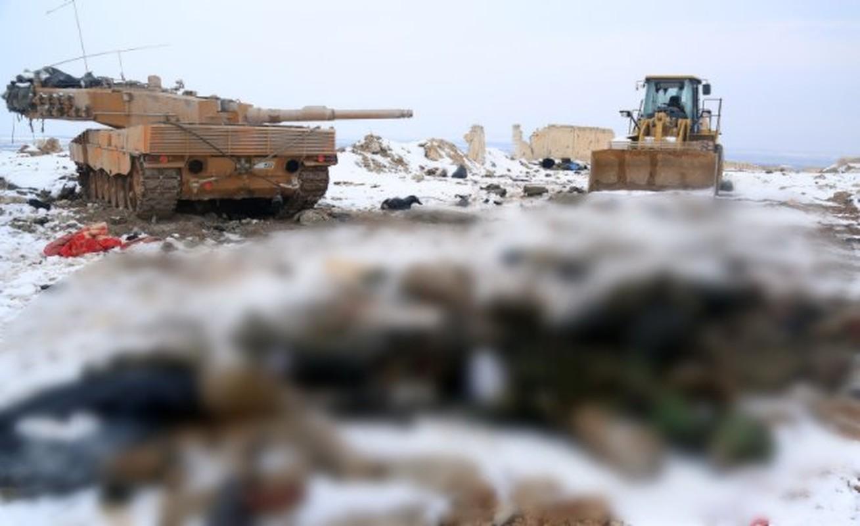 The tham quan doi TNK vut xe tang thao chay o Syria-Hinh-2