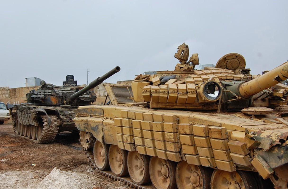"""Phien quan tung xe tang """"khung"""" danh tra Quan doi Syria-Hinh-7"""