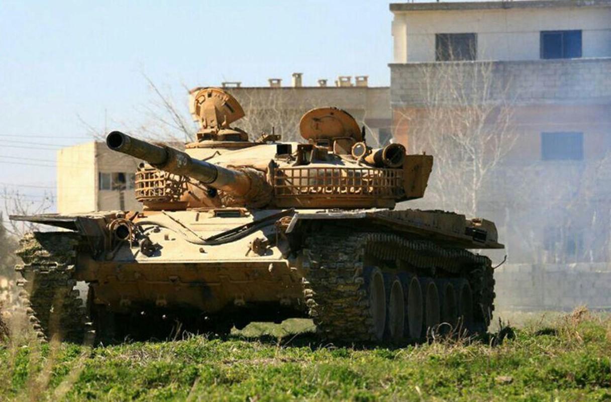 """Phien quan tung xe tang """"khung"""" danh tra Quan doi Syria"""