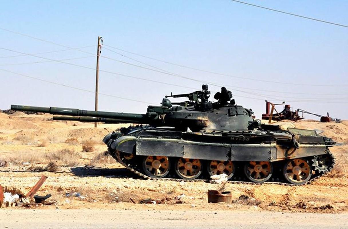 Bang chung Quan doi Syria dac biet coi trong tang T-62M-Hinh-2