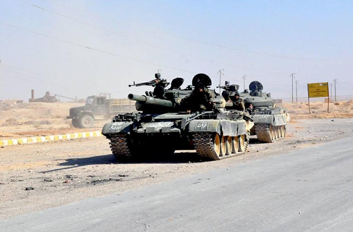 Bang chung Quan doi Syria dac biet coi trong tang T-62M