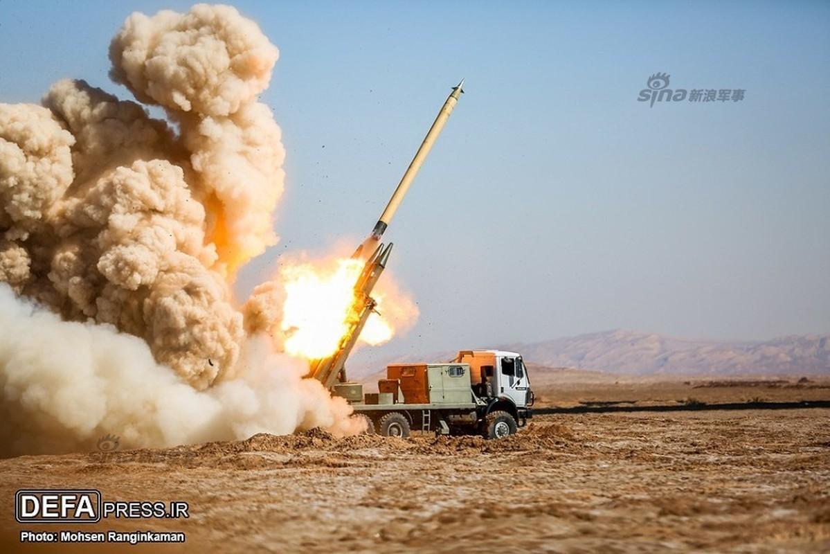 Du doi canh Iran ban phao phan luc co 333mm tinh khon