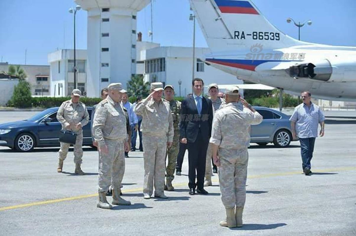 "Tong thong Syria cuoi tuoi, thich thu vu khi ""khung"" cua Nga"